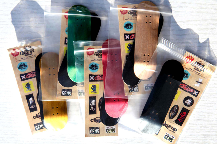 Close Up Fingerboards