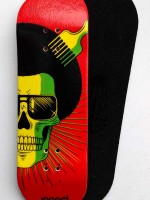 BOARD NOMAD RASTA SKULL 31MM MEDIUM CONCAVE