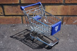 Shopping Cart Blue Model