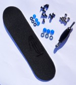Tool, screws, nuts, blue bushings, riptape 30 mm