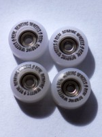 WHITE PRINTED BEARING WHEELS