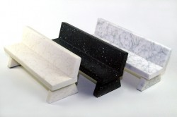 closeup-marble-BENCHES-pack-WHITE+BLACK+GREY