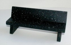 closeup-marble-bench-black