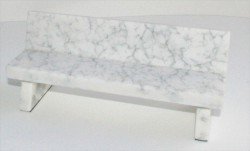 closeup-marble-bench-grey